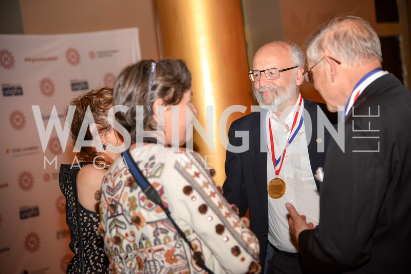 Fiona Caruthers, Dr. Adi Shamir, Dr. Marvin Caruthers National Inventors Hall of Fame, Induction at the National Building Museum, May 3, 2018-9152.JPG
