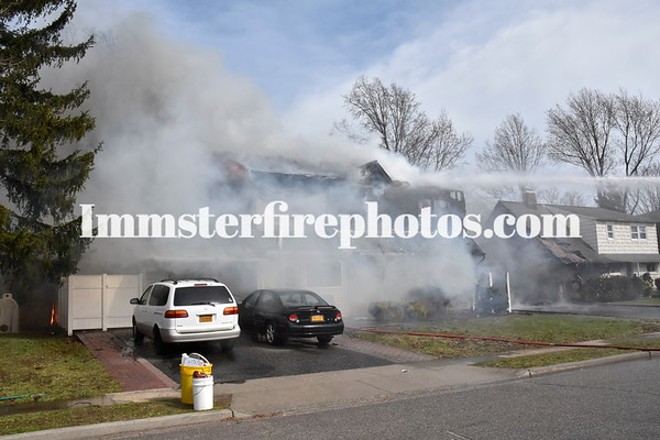 HICKSVILLE FD ALPINE LA   4th  ALARM  3-31-16