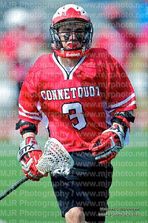 Lacrosse, Boys Freshman, 2012-04-07 St Anthonys Vs Connetquot