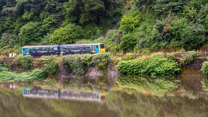 Pacer train at Radyr