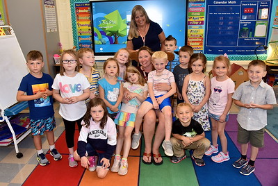 Meet Mrs McKeighan's Kindergarten photos by Gary Baker