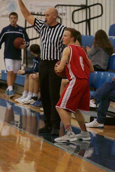Crusader Basketball vs Clearwater 022117