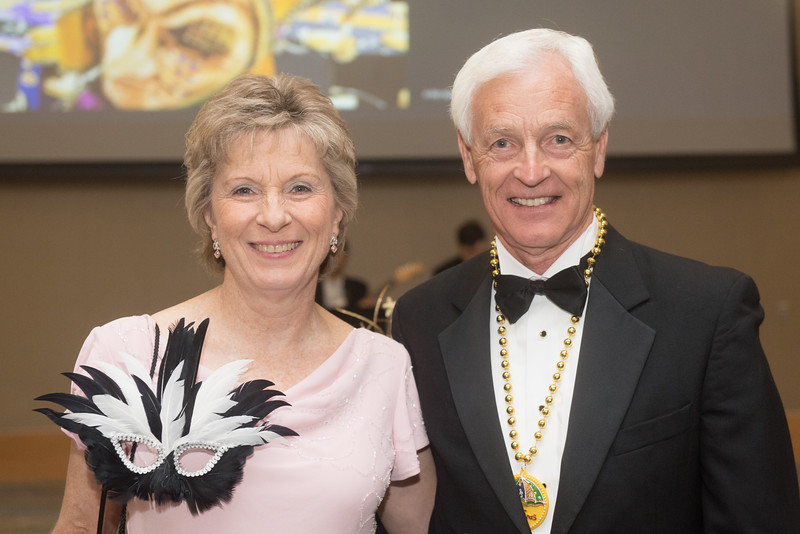 Jean and John Seekamp. Saturday February 25, 2017 at TAMU-CC during the annual President's Mardi Gras Ball.