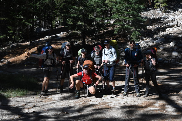 Mt. Whitney East Face August 20-22, 2018