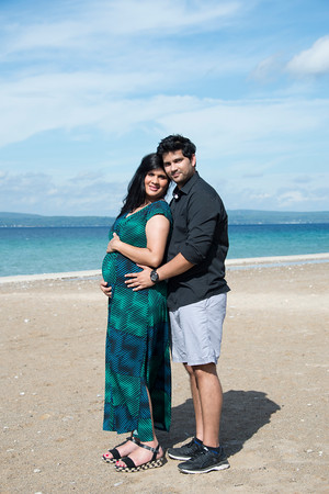 Yashvi Maternity Photo Session - Bay Harbor