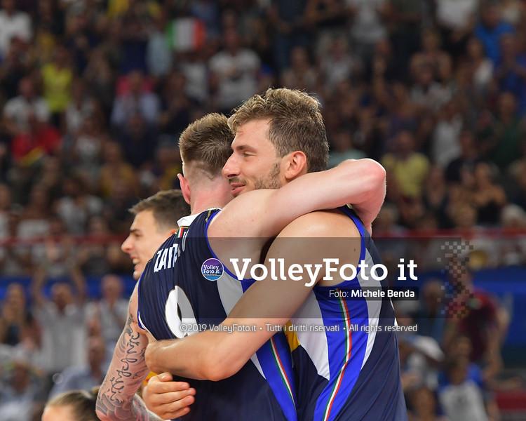 ITALIA vs SERBIA, 2019 FIVB Intercontinental Olympic Qualification Tournament - Men's Pool C IT, 11 agosto 2019. Foto: Michele Benda per VolleyFoto.it [riferimento file: 2019-08-11/ND5_7359]