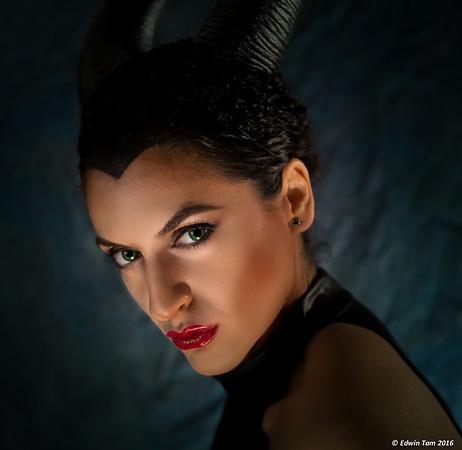 Sa Guz as Maleficent!