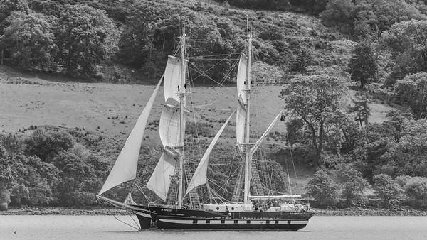T.S. Royalist Sailing Ship