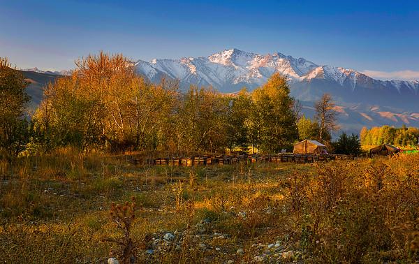 China, Xinjiang, Tianshan Mountain Range, Du-Ku Highway, Fall Colors, 新疆, 天山, 独库公路, 秋色