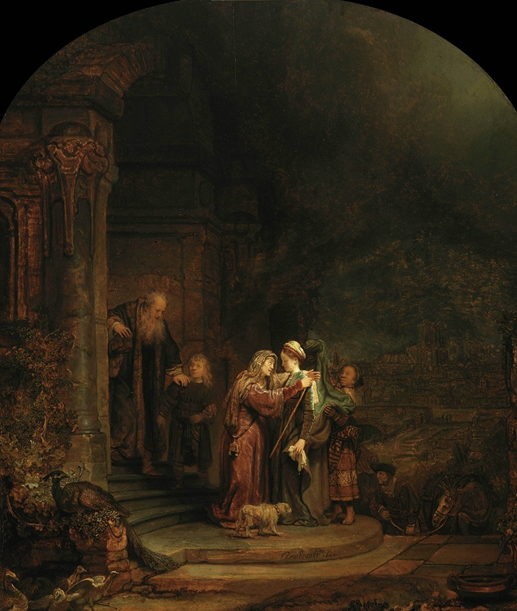 "Description of . ""The Visitation"" by Rembrandt Harmenszoon van Rijn: $50M-90M  Photo courtesy of the Detroit Institute of Arts."