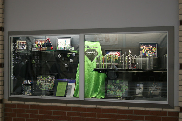CRHS Trophy Case Display Spring 2008