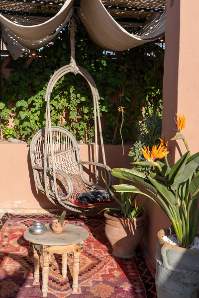 Swing at Riad BE Marrakech
