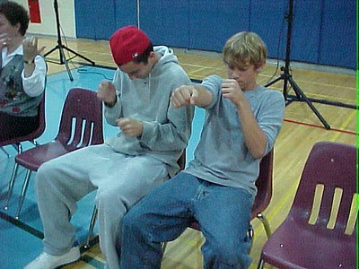 Granby High School... October 11, 2001