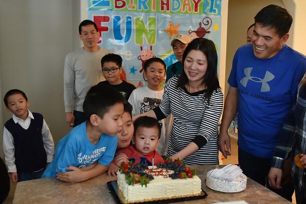 Evan's 1st Birthday