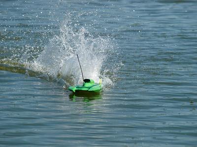 Radio Controled Boat Testing