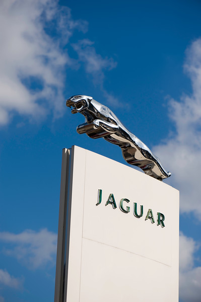 Jaguar car showroom, London, United Kingdom