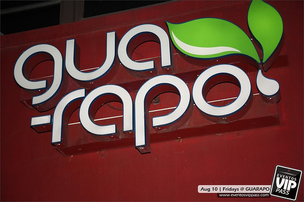 GUARAPO | Fri, Aug 10