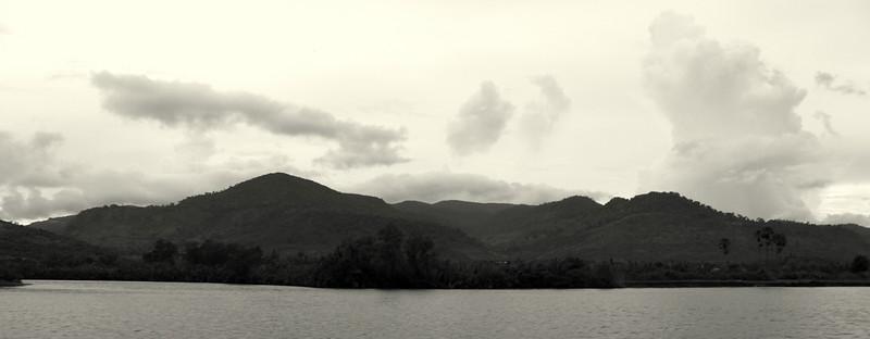 Bokor Mountain, part of the Elephant Mountains
