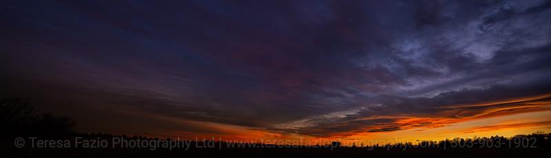 Brunner sunset
