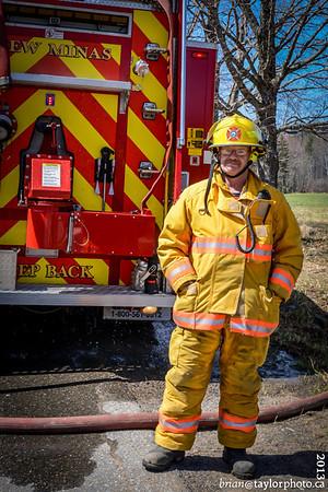 Kentville Fire Control Burn, May, 4 2013