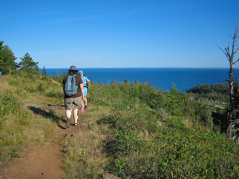 Superior Hiking Trail in Split Rock Lighthouse State Park