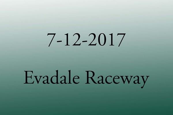 7-12-2017 Evadale Raceway 'Wednesday Night TnT'