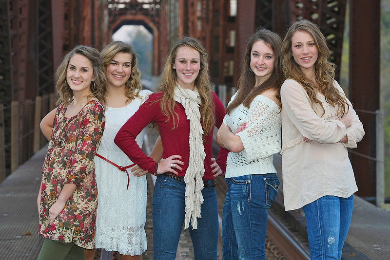 Taylor, Kate, Hannah, Summer, Kayla