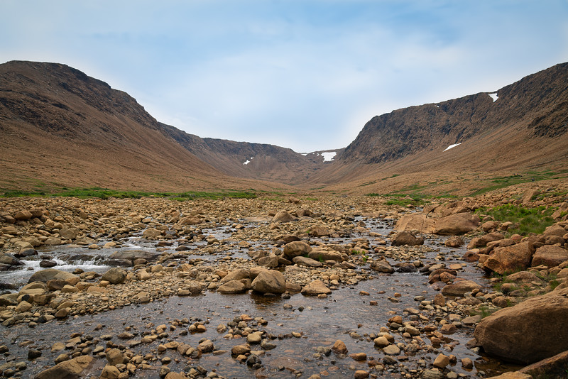 Photos inside Gros Morne National Park, Newfoundland, Canada--Tablelands