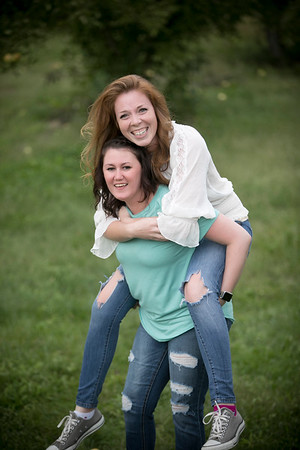 Becky and Mindy Best friend session