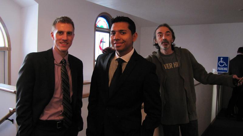 Kyle Giombi, Danny Rodriguez and DJ Zukaitis