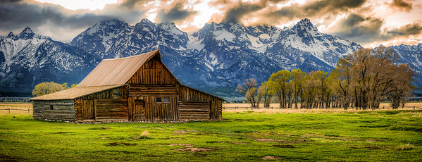 Moulton Barn, WY