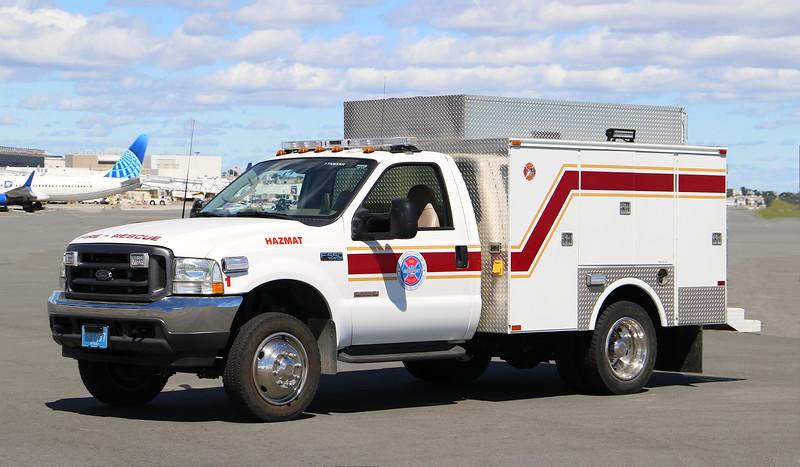 Hazmat 1.  2003 Ford F-550 / Omaha Body