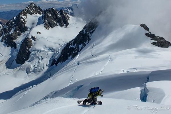 Nieshe Platue/ Godley Glacier