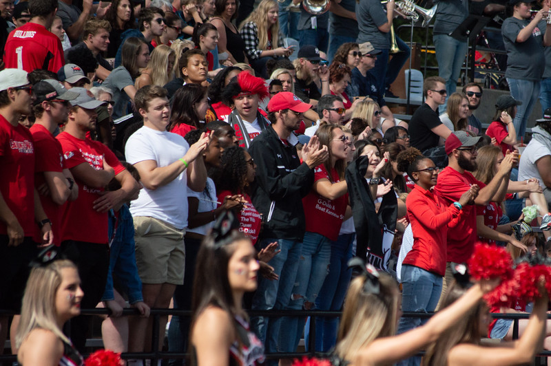 Crowd after a touchdown