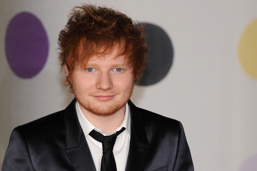 . Ed Sheeran attends the Brit Awards 2013 at the 02 Arena on February 20, 2013 in London, England.  (Photo by Eamonn McCormack/Getty Images)