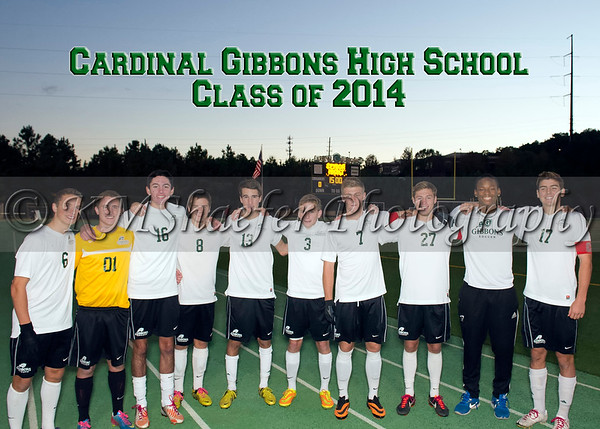 Class of 2014 Senior Night