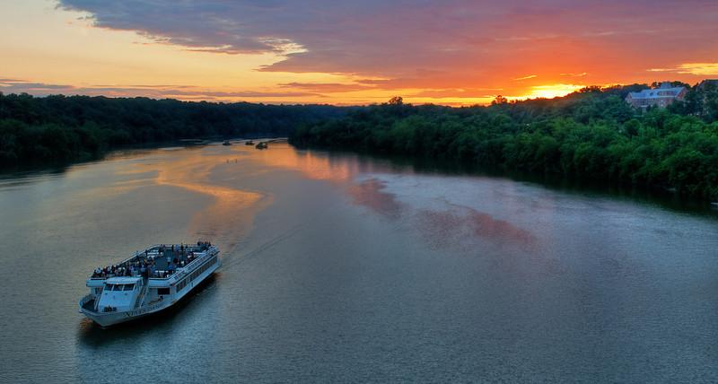 Potomac River from Key Bridge