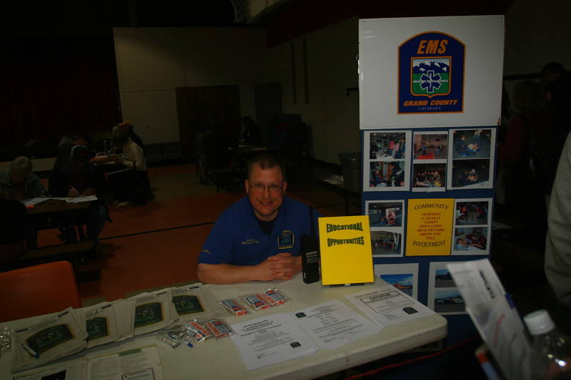 Our EMTs are always there with Information and wonderful staff support of the Fraser 9HealthFair