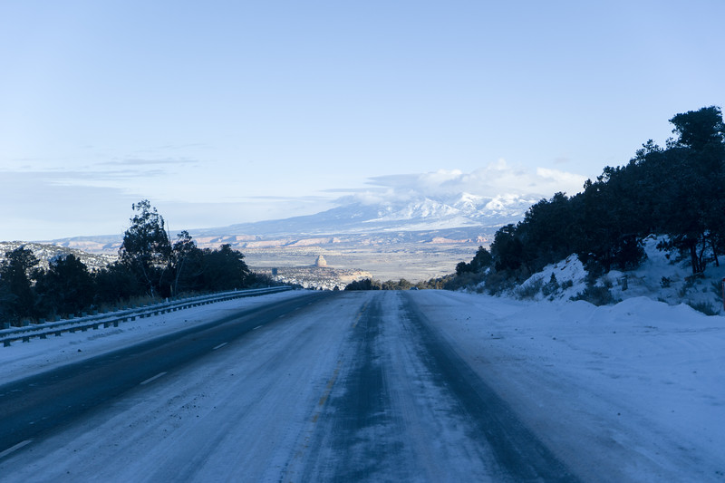 US 191 North of Monticello, UT