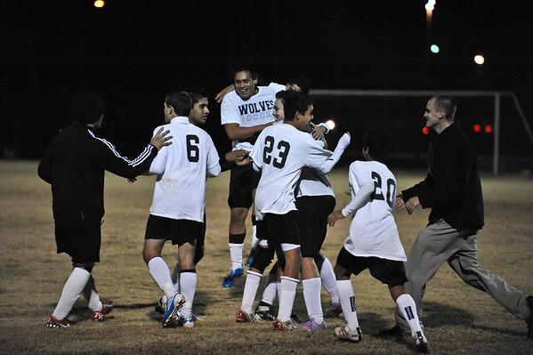 Lincolnton vs Cuthbertson  Soccer Playoffs Nov. 10, 2010