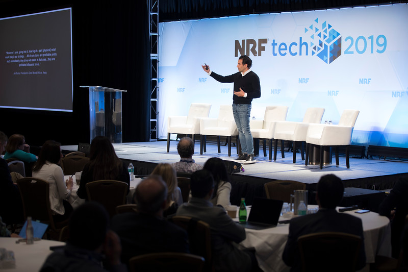 Phillip Raub at NRFtech 2019