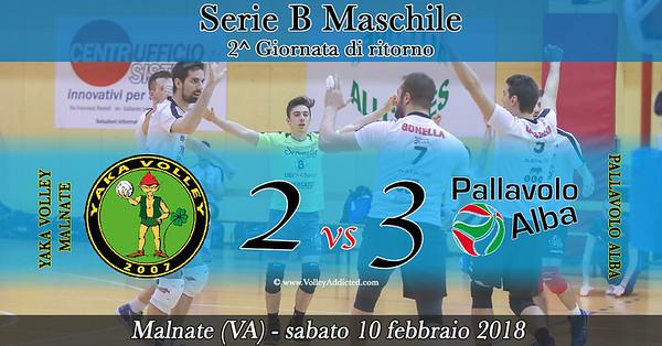 2^ ritorno: Yaka Volley - Pallavolo Alba