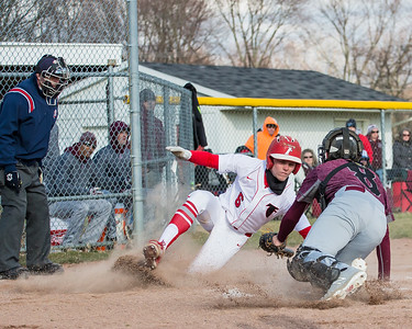 Lacey's pitching, hitters' patience lead Firelands past Wellington