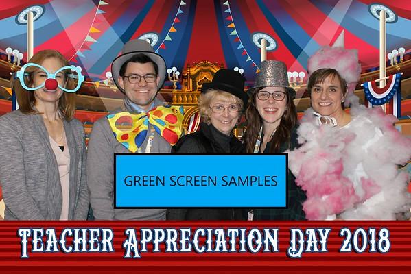 Green Screen Samples