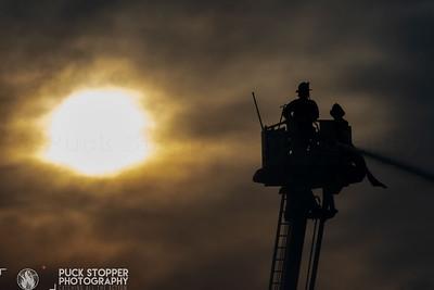 5 Alarm Pallet Yard Fire - 528 Drake St, Bronx, NY - 9/7/20