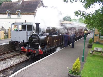 Lavender Line steam gala - May 2006