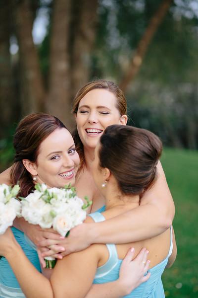 Big hugs and Bridesmaids