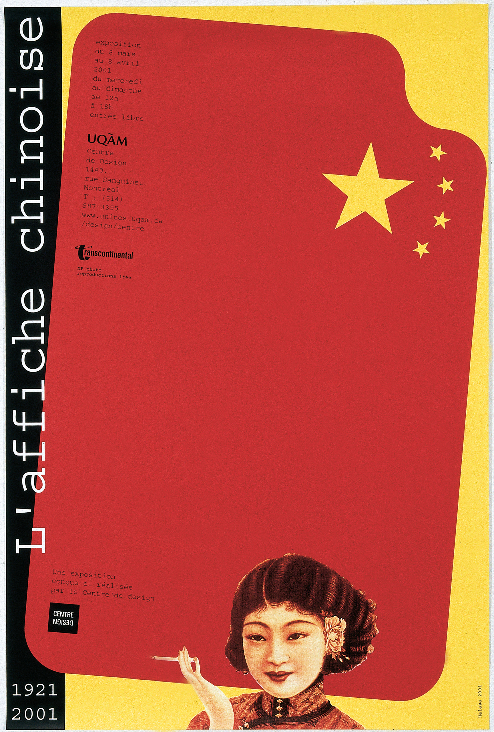 2001 - Exposition - L'affiche chinoise 1921 2001 ©Alfred Halasa