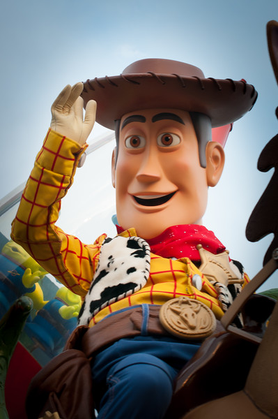 Woody from Toy Story, Disneyland Paris