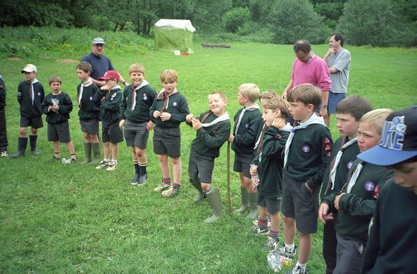 1999 Whitsun Cub Camp